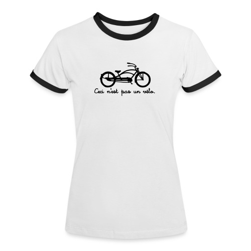 ceci2a - T-shirt contrasté Femme