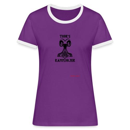 THOR's-RAMMjolnir - T-shirt contrasté Femme