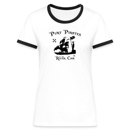 Punt Pirates - Women's Ringer T-Shirt