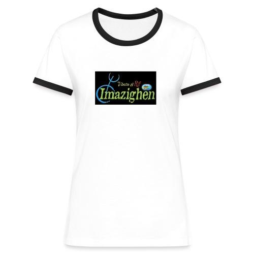 Imazighen ithran rif - Vrouwen contrastshirt