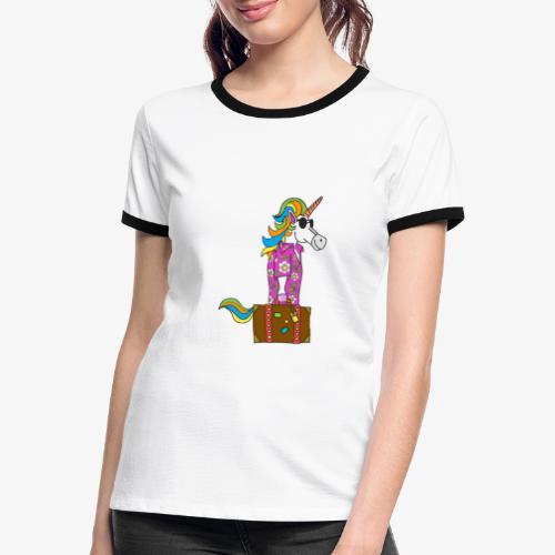 Unicorn trip - T-shirt contrasté Femme