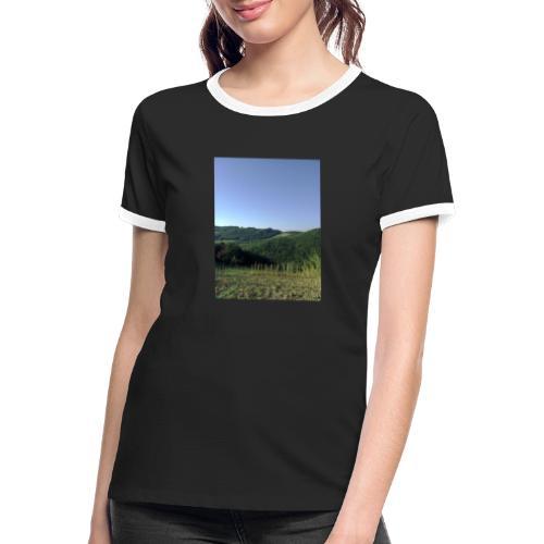 Panorama - Maglietta Contrast da donna