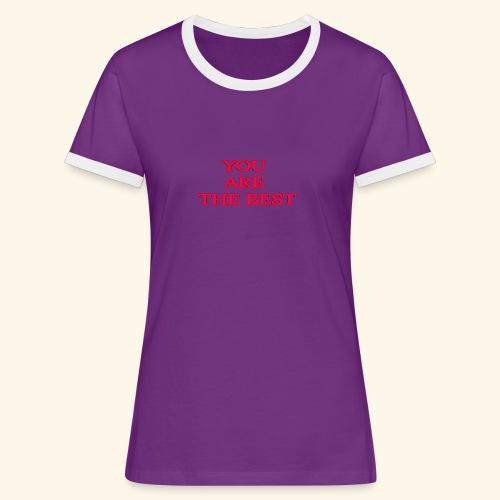 best 717611 960 720 - Dame kontrast-T-shirt