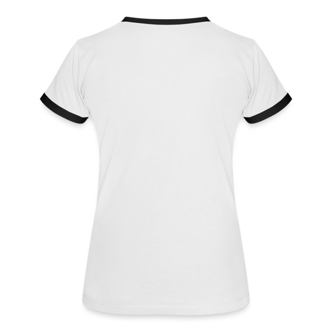 Team Gassi - Frauen Kontrast-T-Shirt