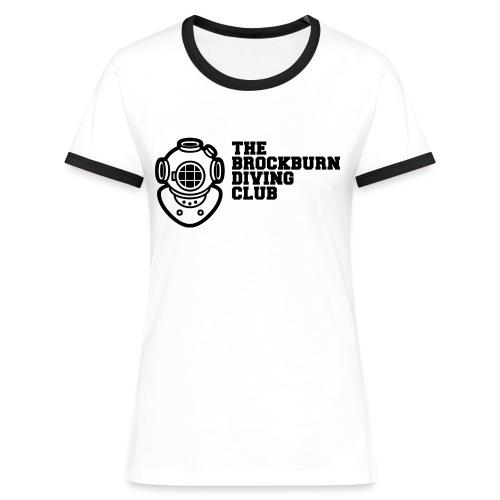Brockburn Diving Club - Women's Ringer T-Shirt