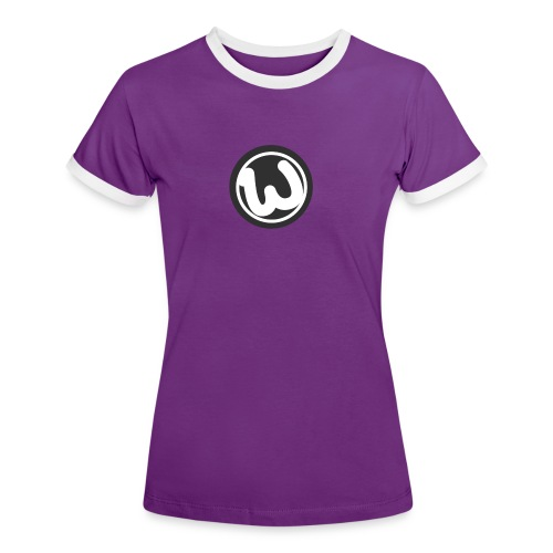 Wooshy Logo - Women's Ringer T-Shirt