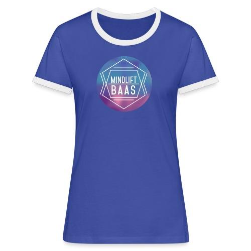 MindLift BAAS - Vrouwen contrastshirt