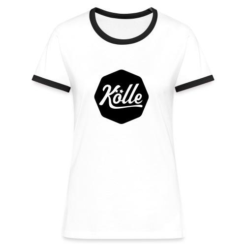 Kölle - Frauen Kontrast-T-Shirt