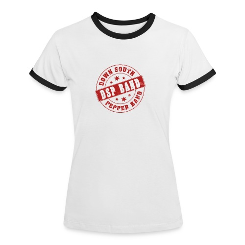 DSP band logo - Women's Ringer T-Shirt