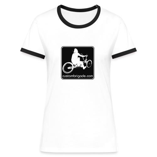 Logo Cruiser - T-shirt contrasté Femme