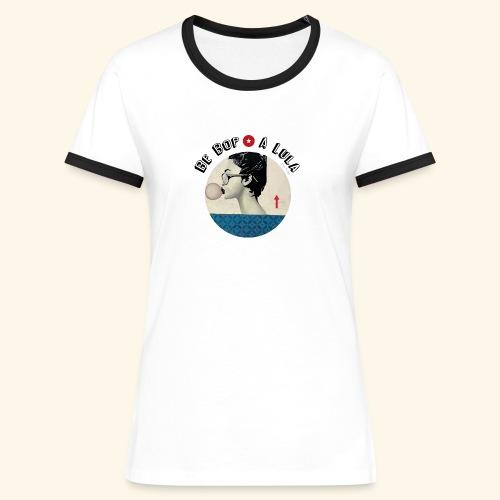 Be bop a lula - T-shirt contrasté Femme