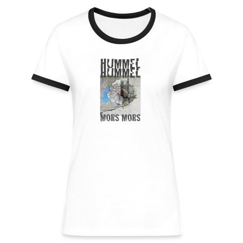 HUMMEL png - Frauen Kontrast-T-Shirt