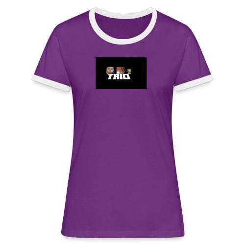 TRIO - Maglietta Contrast da donna