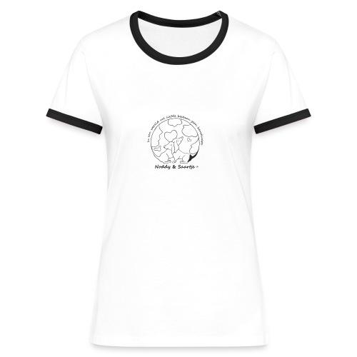 Stichting Noddy Saartje - Vrouwen contrastshirt