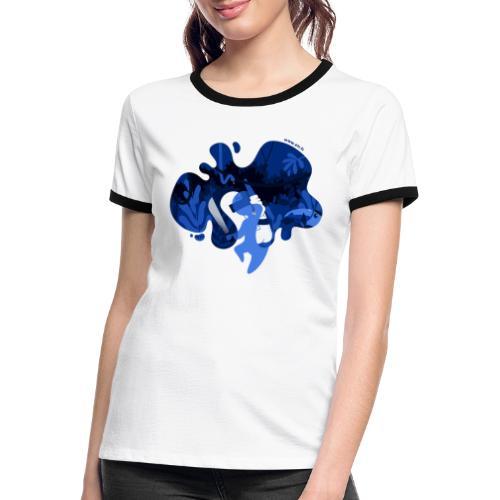 ETR VR aventure - T-shirt contrasté Femme