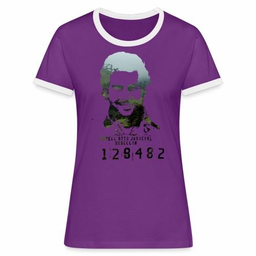 Pablo Escobar - Regenwald in Kolumbien - Frauen Kontrast-T-Shirt