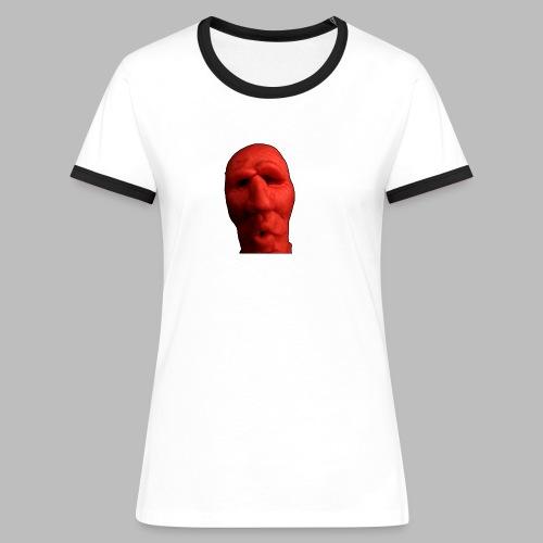 red ed - Frauen Kontrast-T-Shirt