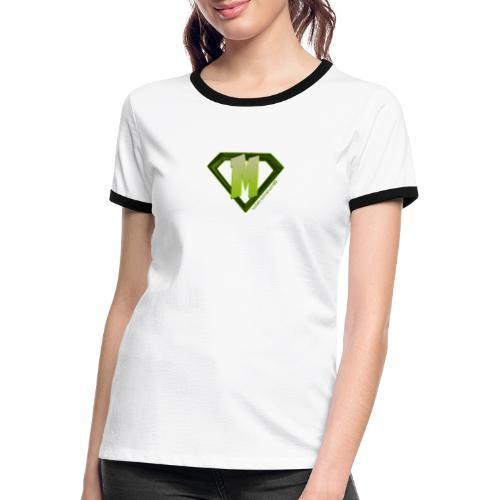 ManuLM80 - Frauen Kontrast-T-Shirt