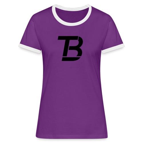 brtblack - Women's Ringer T-Shirt