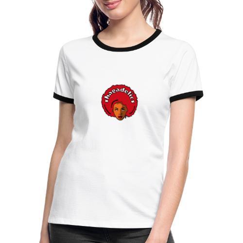 Shagadelics Head - Frauen Kontrast-T-Shirt