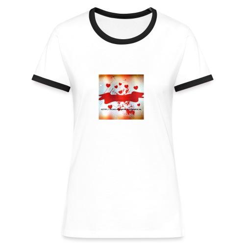 KOKO 3 - Vrouwen contrastshirt
