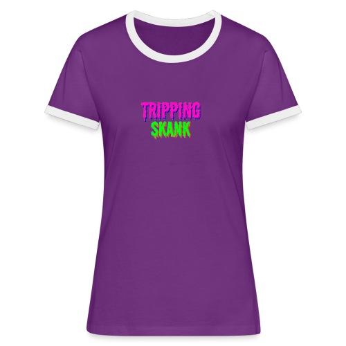 TRIPPING VAN DE SKANK - Vrouwen contrastshirt