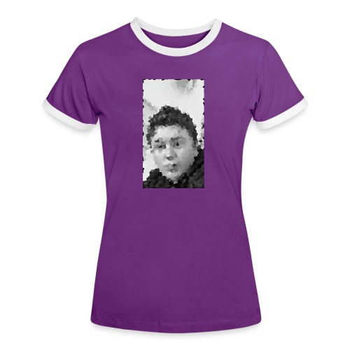 Permission - Dame kontrast-T-shirt