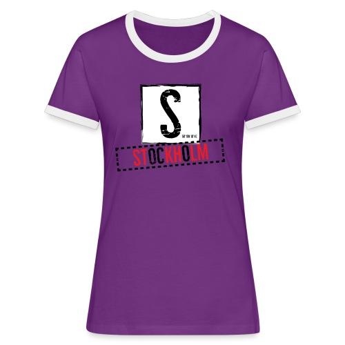 stockholm - Women's Ringer T-Shirt