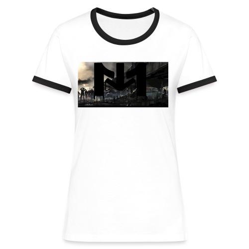 Mousta Zombie - T-shirt contrasté Femme