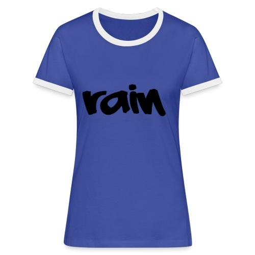 logo 3 Rain png - Vrouwen contrastshirt