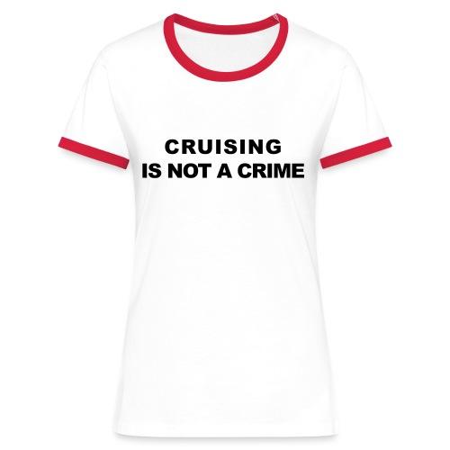 crimecb - T-shirt contrasté Femme