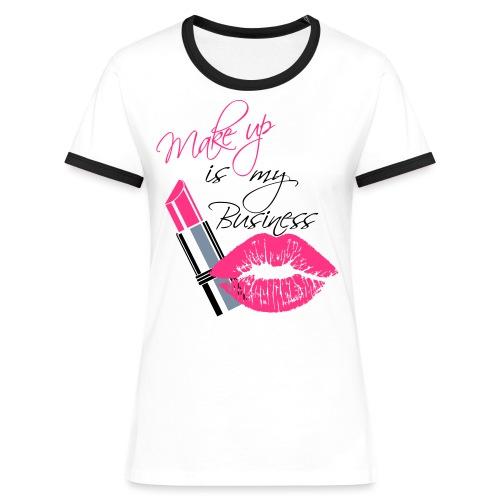 makeupmandy - Vrouwen contrastshirt