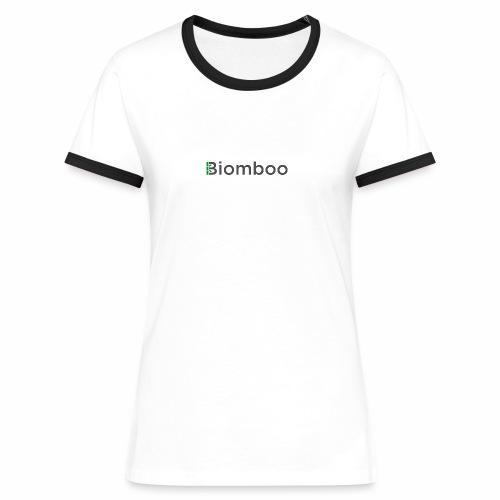 Biomboo Charcoal - Women's Ringer T-Shirt