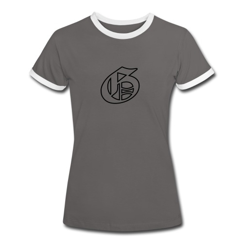 G-logo - Naisten kontrastipaita