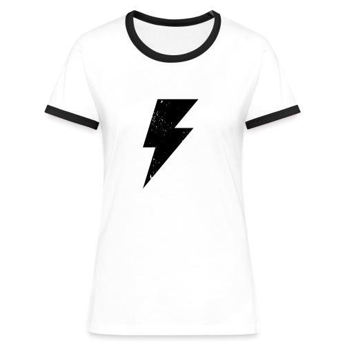 Black Storm - T-shirt contrasté Femme