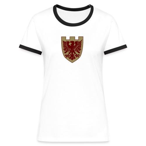 tremoniawappen6 - Frauen Kontrast-T-Shirt