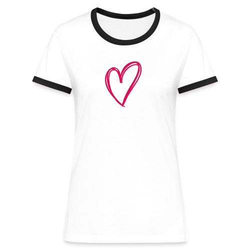 hartje03 - T-shirt contrasté Femme