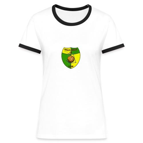 Valla Verde - Frauen Kontrast-T-Shirt