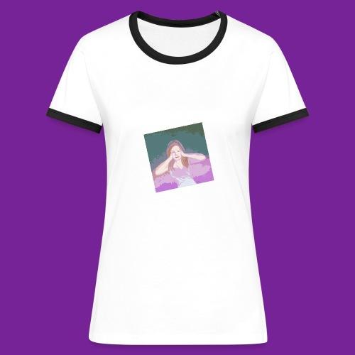 trop de bruit - T-shirt contrasté Femme