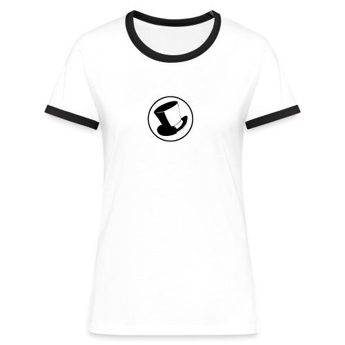 GLASS HAT - Camiseta contraste mujer