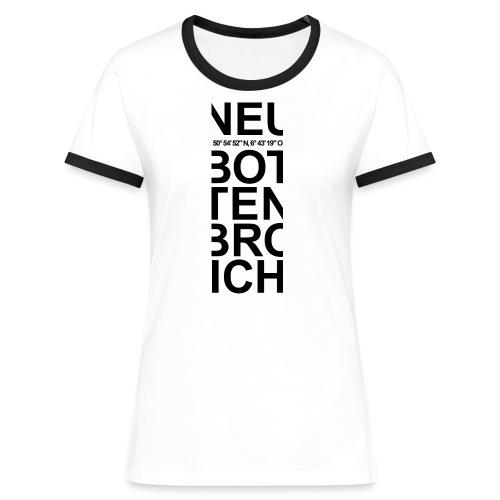 NeuBo Streifen Jacqueline - Frauen Kontrast-T-Shirt