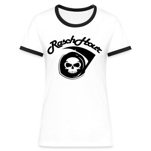 RaschHour-Logo - Frauen Kontrast-T-Shirt