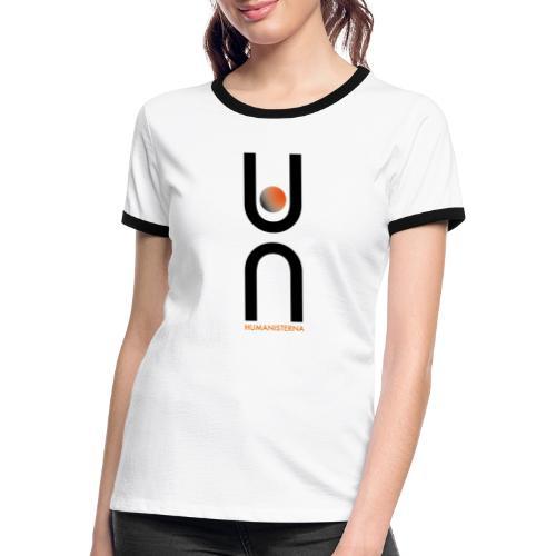 Humanisterna logo - Kontrast-T-shirt dam