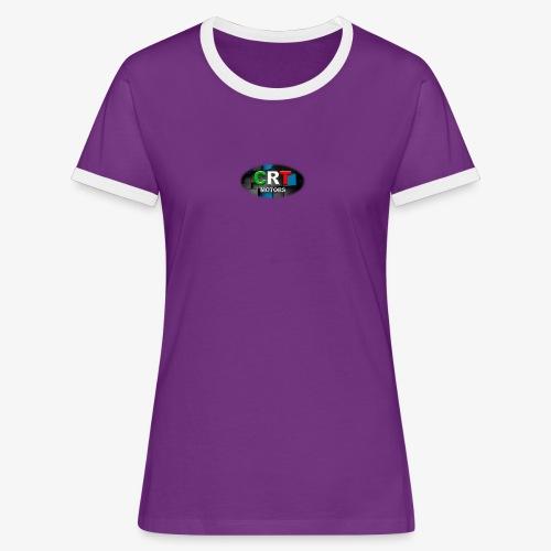 CRT Logo - Women's Ringer T-Shirt