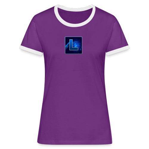 Logo GamenMetLucas - Vrouwen contrastshirt