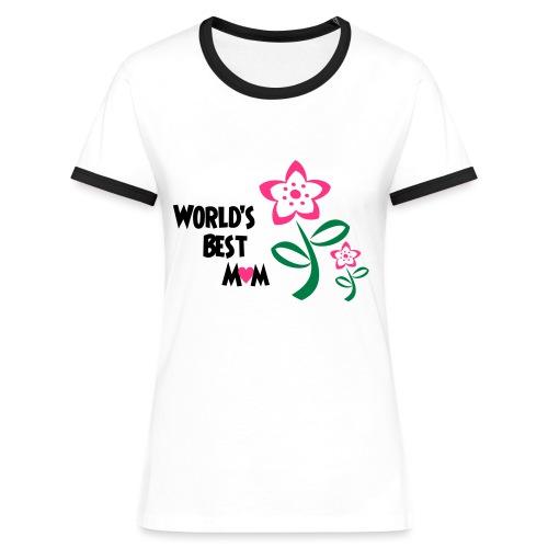 World's Best Mum - Women's Ringer T-Shirt