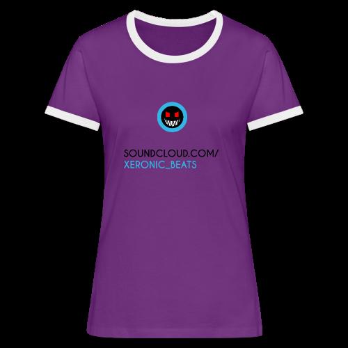 XERONIC LOGO - Women's Ringer T-Shirt