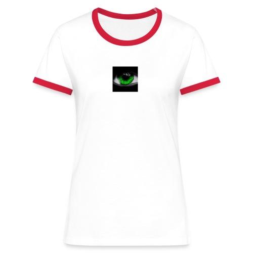 Green eye - Women's Ringer T-Shirt