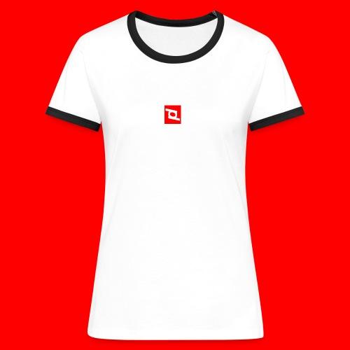pd 90 - Dame kontrast-T-shirt