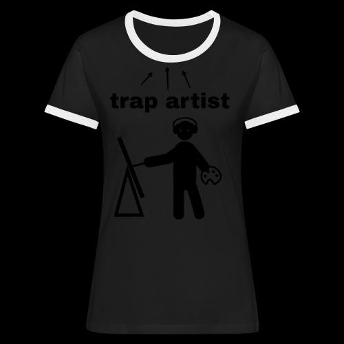 Trap Artist - Camiseta contraste mujer